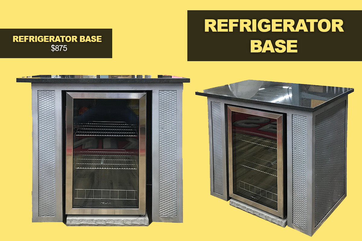 Refrigerator base kit