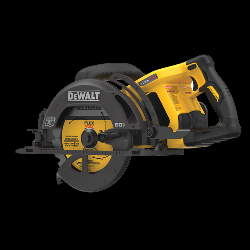 FLEXVOLT® 60V MAX* 7-1/4 IN. CORDLESS WORM DRIVE STYLE SAW (TOOL ONLY)