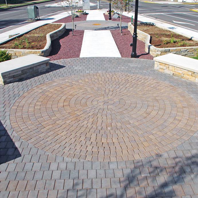 circle pavers