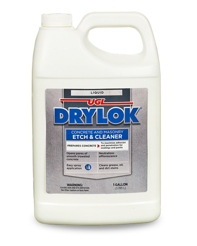 DRYLOK® Concrete and Masonry Liquid Etch & Cleaner